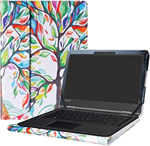 "Alapmk Protective Case Cover for 11.6"" Lenovo Flex 11 CHROMEBOOK/Lenovo N23 Yoga Chromebook/Lenovo ThinkPad 11e Yoga 6th Gen Laptop(Note:Not fit Lenovo N23 Chromebook/N23 Windows Laptop),Love Tree"
