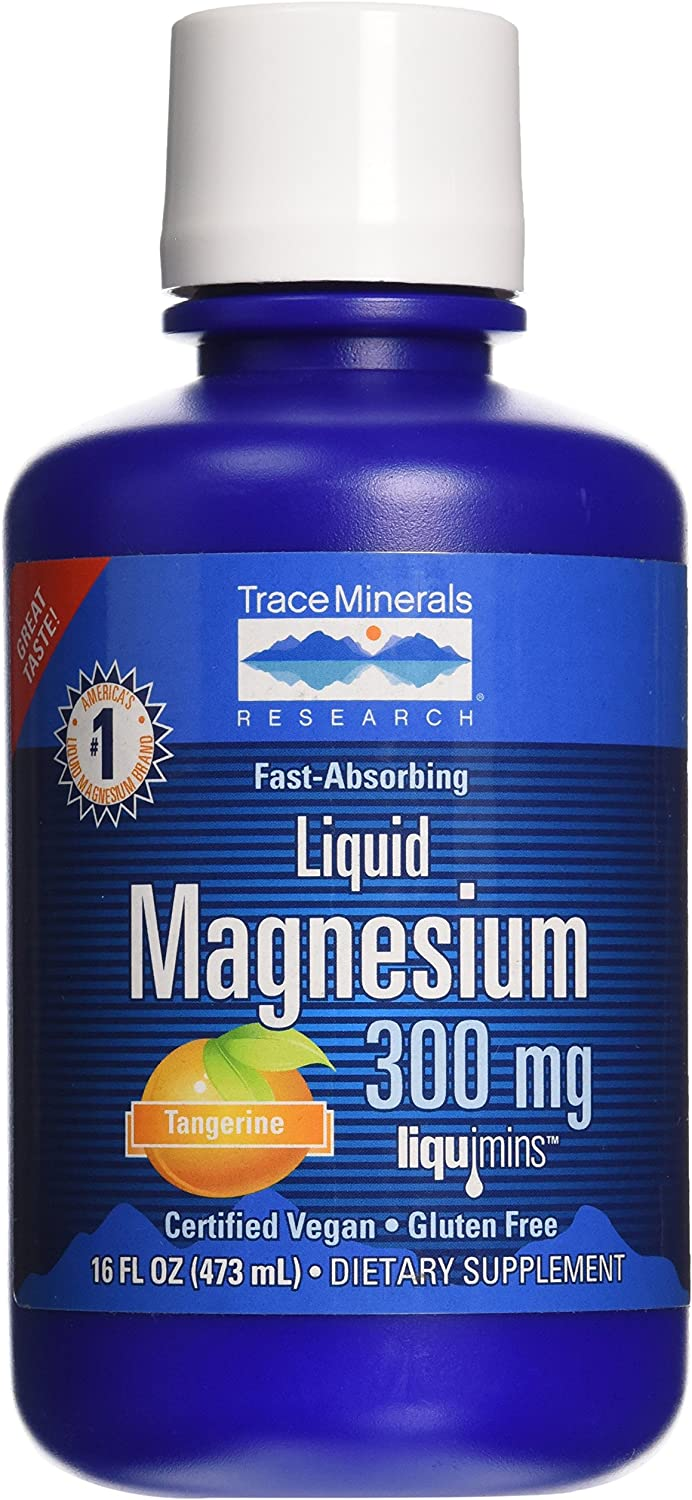 Trace Minerals Research Liquid Magnesium 300 Mg, 16 Fl oz: Health & Personal Care