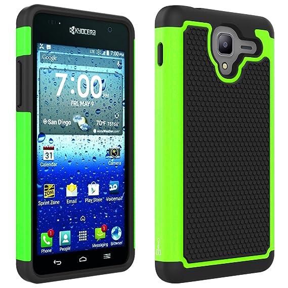 purchase cheap bb3de e2f55 Kyocera Hydro View Case, Hydro Shore Case, Hydro Reach Case CoverON  [HexaGuard Series] Slim Hybrid Hard Phone Cover Case for Kyocera Hydro  View/Hydro ...