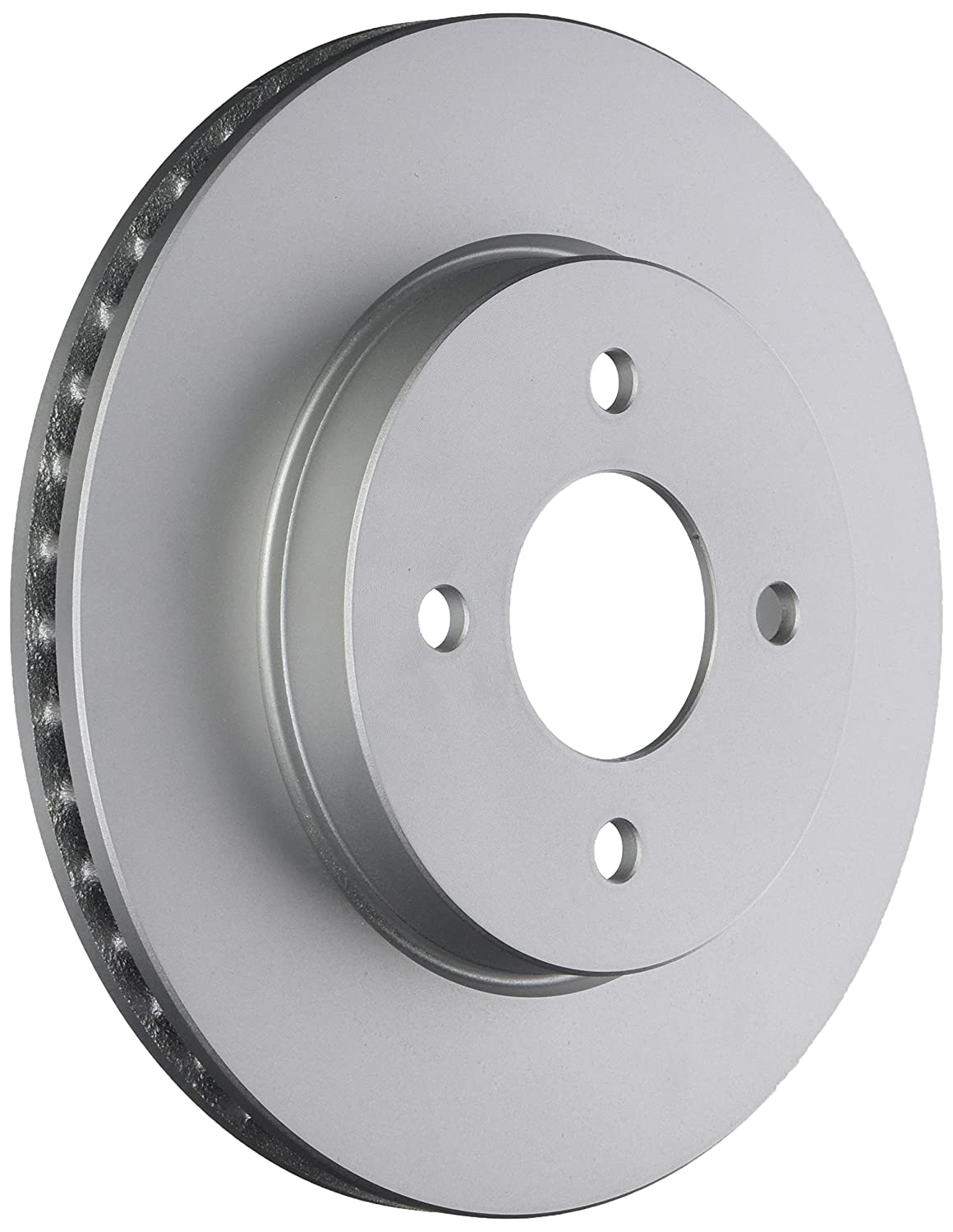Bosch 40011605 Front QuietCast Premium Disc Brake Rotor For Select 2012-2015 Nissan Versa Vehicles