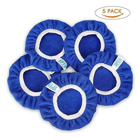 deef05dc03f9 SPTA Bonnets de Polissage en Microfibre 5 pièces, diamètre Maximal de 150  mm pour Auto