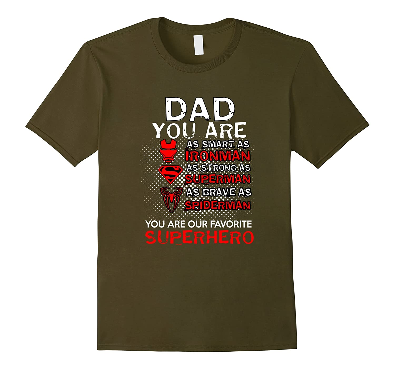 Dad You Are Our Superheroes shirt- Cool Dad T Shirt-CD