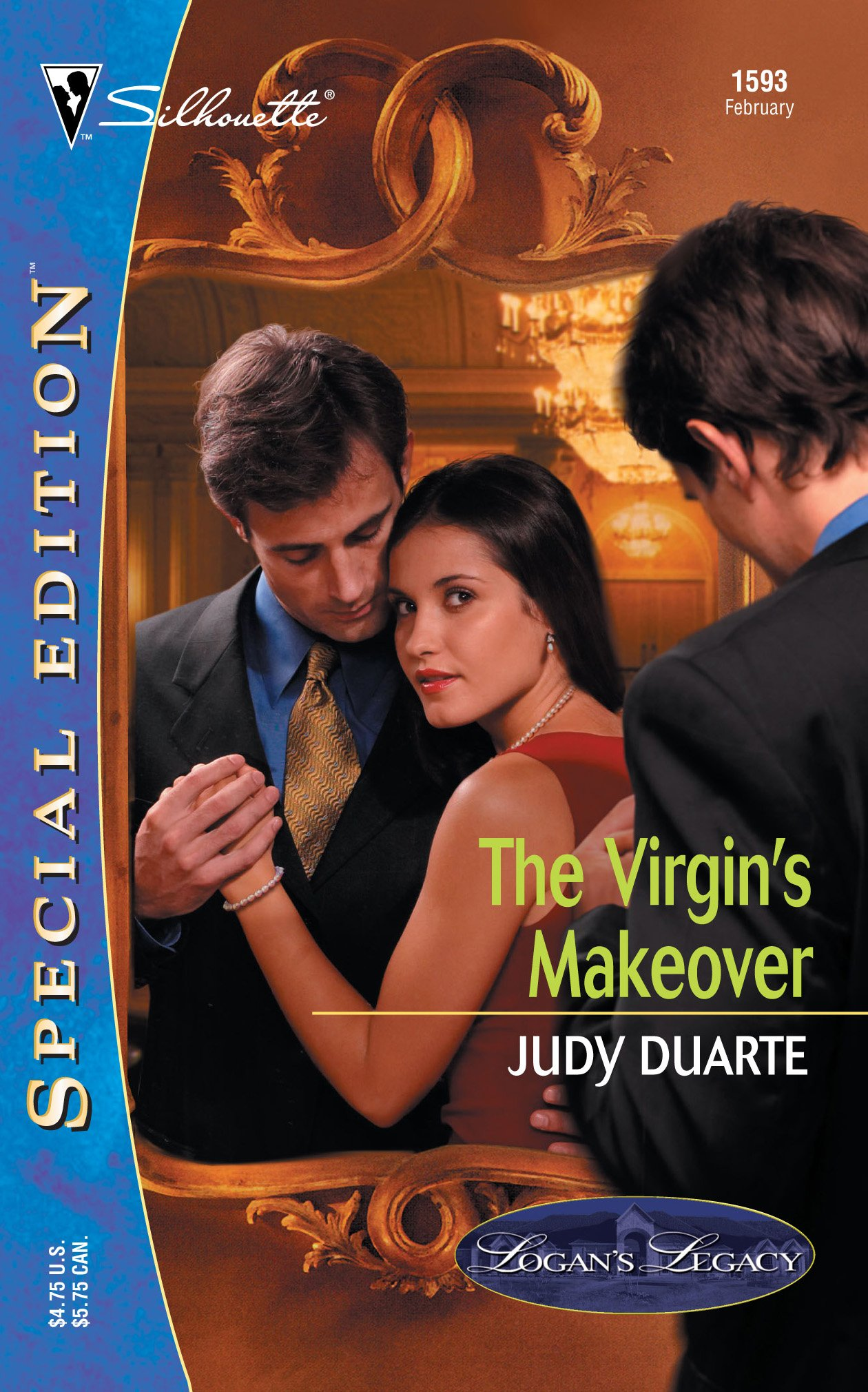 Read Online The Virgin's Makeover (Logan's Legacy)  (Silhouette Special Edition No. 1593) ebook