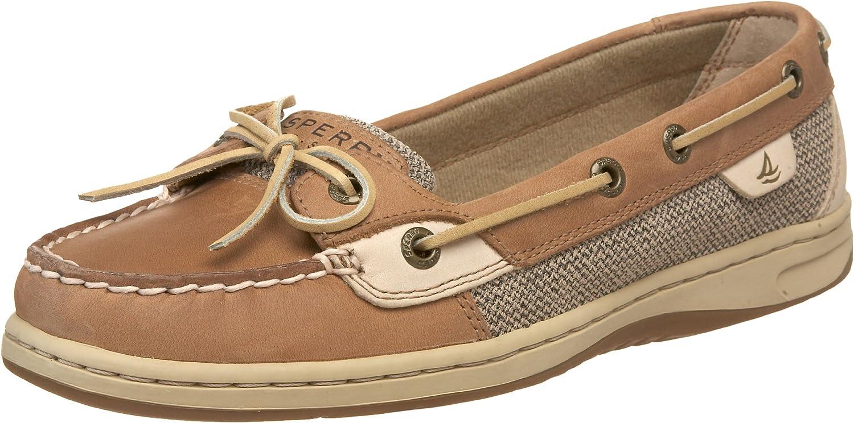 Angelfish Boat Shoe Linen