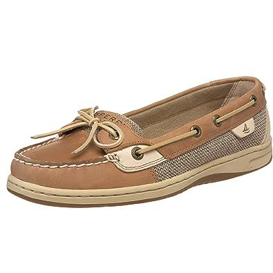Sperry Women S Angelfish Boat Shoe Linen Oat 11 M