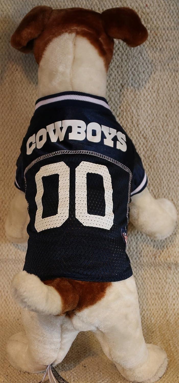 299b15ee4d7 ... Amazon.com DALLAS COWBOYS Dog Jersey ALL SIZES Licensed NFL (XXL) Pet  Supplies ...