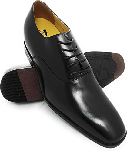 Zerimar Zapatos con Alzas Hombre| Zapatos de Hombre con Alzas Que Aumentan su Altura Fabricados en Espa/ña 7 cm|/Zapatos con Alzas para Hombres Zapatos Hombre Vestir