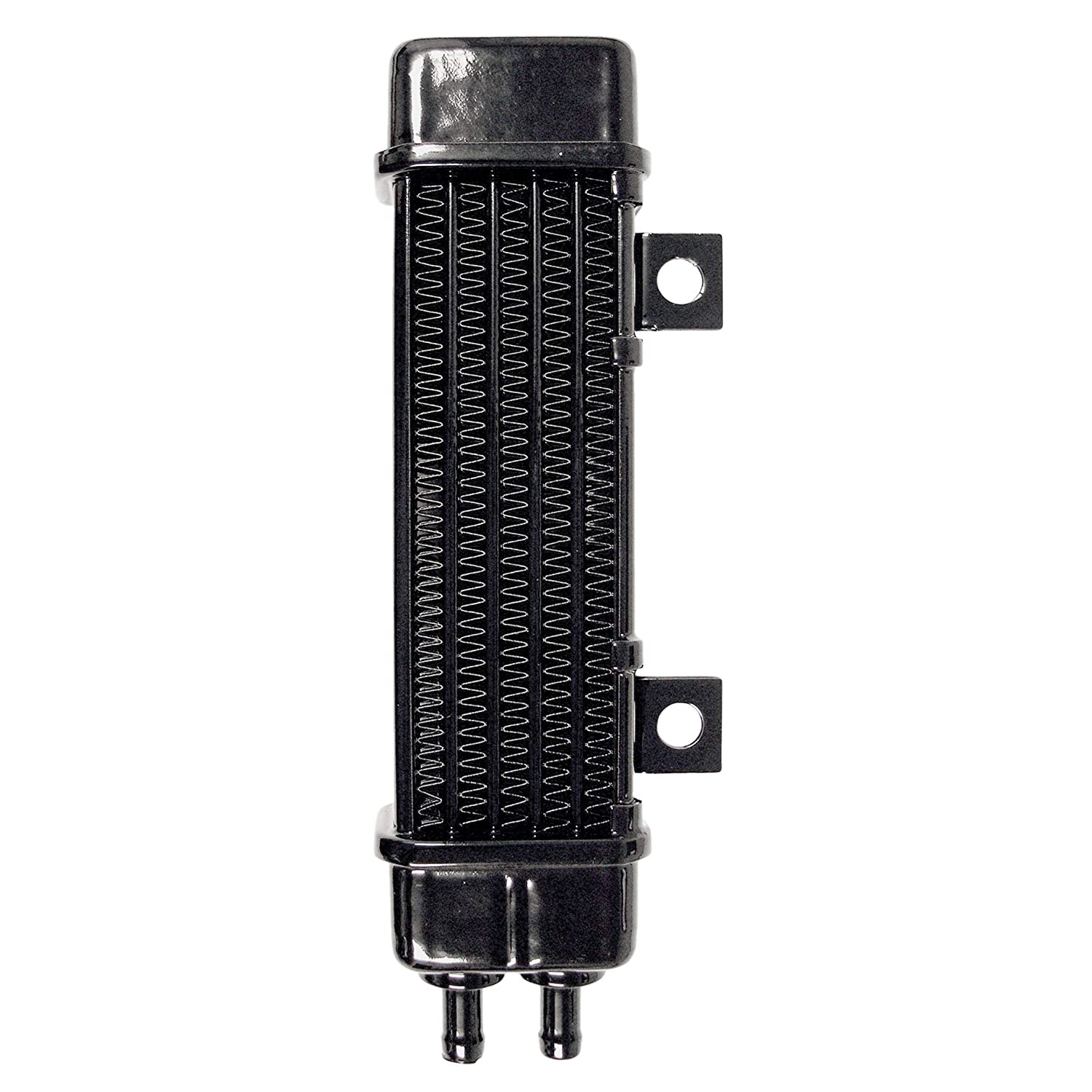 No Fan Jagg 3160 Universal 10 Row Oil Cooler with 2 Mounting Tabs and 2 Mounting Bosses