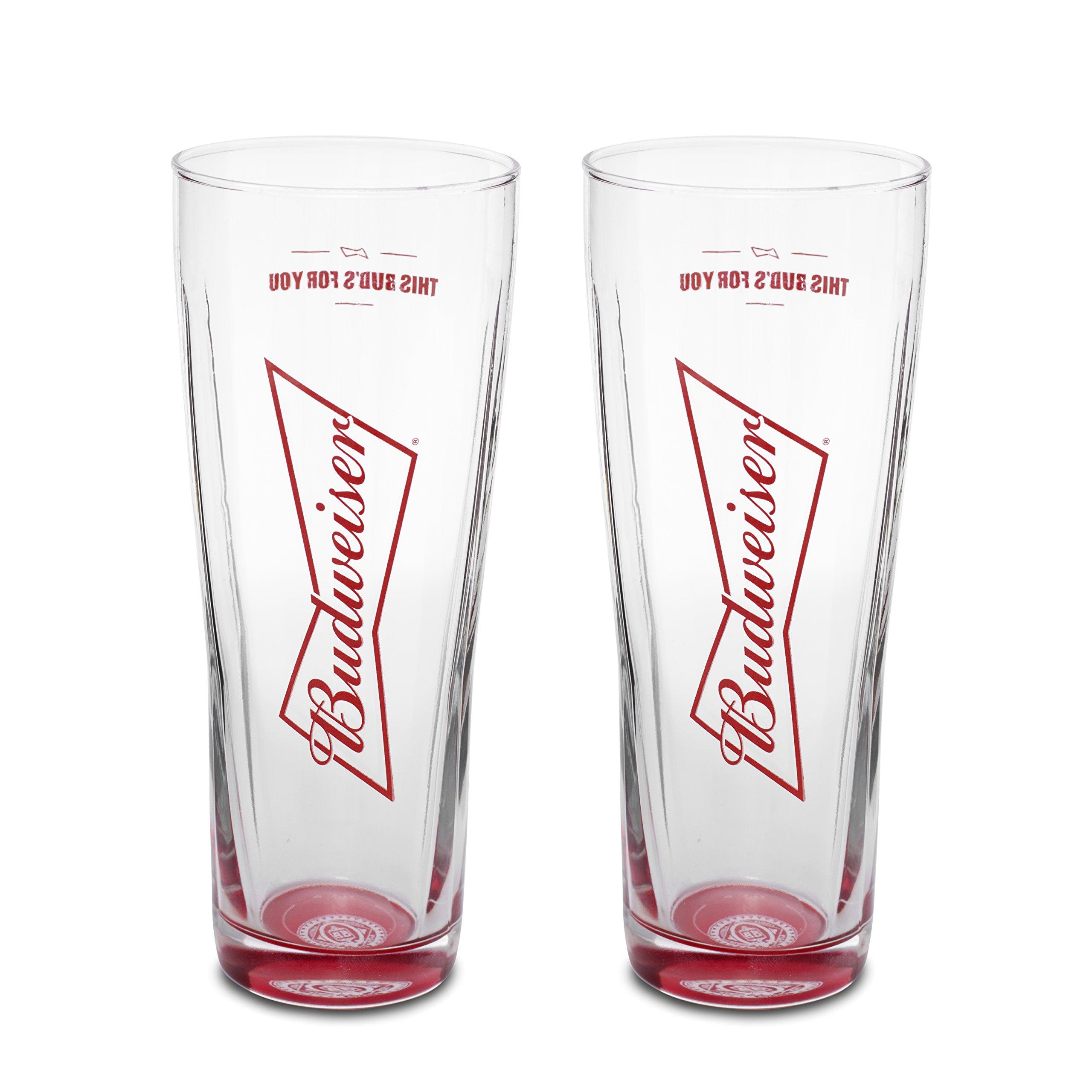 Budweiser Signature 2-Pack Pint Set, 20oz