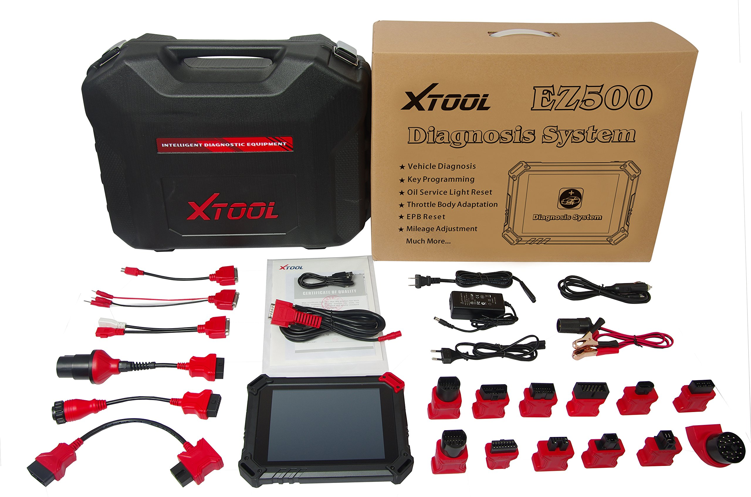 XTOOL100% Original XTOOL ez500 Diagnosis System with WIFI Online Update the Same Function with Xtool PS80 and ps90