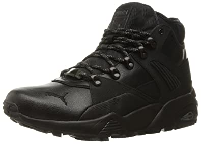 puma boots. puma men\u0027s b.o.g sock boot fashion sneaker, dark shadow/puma black, puma boots |