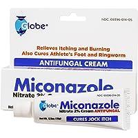 Miconazole Nitrate 2% Antifungal Cream - 1 Oz (2 x 0.5 oz)