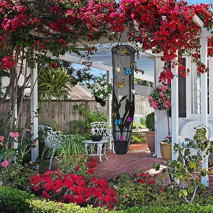CampHiking Mariposa Casa Insecto Hábitat Red Colgante Jaula Planta ...