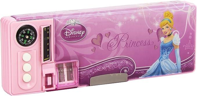 Cife - Plumier automático con diseño de Princesas (86546): Amazon.es: Equipaje