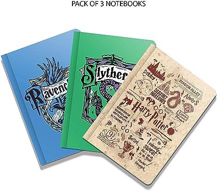 MC SID RAZZZ Harry Potter – Juego de 3 cuadernos de regalo de ...
