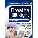 Breath Rite Large Tan30 Size 30s Breathe Right Original Tan Nasal Strips, Large