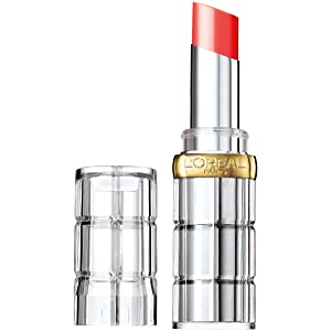 L'Oréal Paris Makeup Colour Riche Shine Lipstick, Luminous Coral, 0.1 oz.