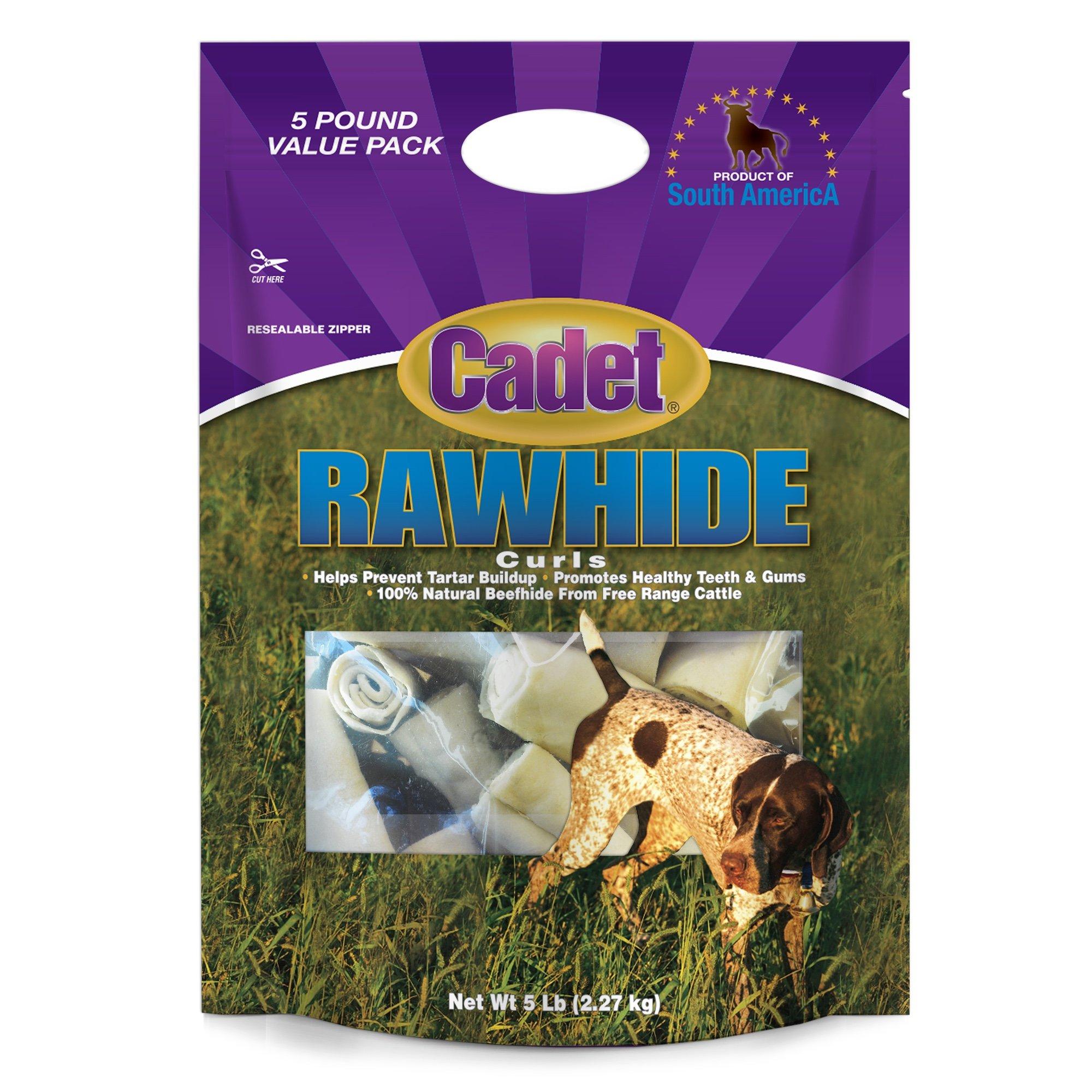 Cadet Rawhide Curls Dog Chews by Cadet