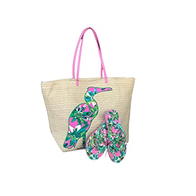 459627b64378 cheap Vera Bradley Seashore Tote and Matching Small Flip Flops available in 3  patterns (Octopus