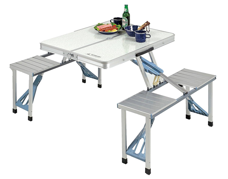 キャプテンスタッグ(CAPTAIN STAG) テーブル ラフォーレ DXアルミピクニックテーブル UC-9 B016B6JQJ2