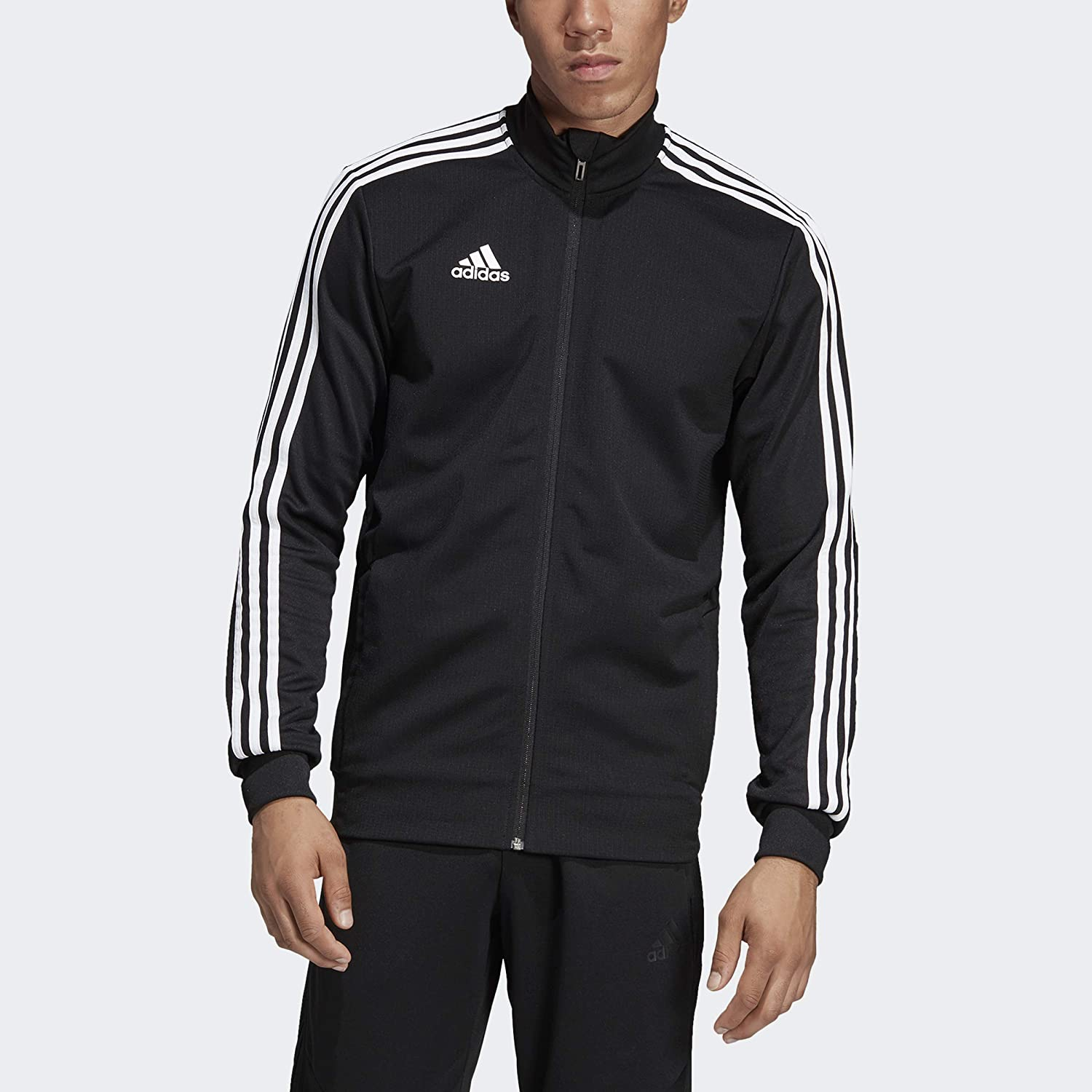 Details about Adidas Men TIRO 19 Training FZ Jacket Shirts Navy Jersey Top Sweat Shirt DT5272