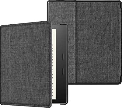 Charcoal Black Kindle Fabric Cover for 10th Generation - 2019
