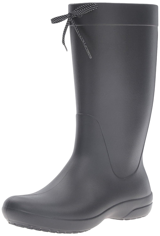Crocs Freesail Rain Boot, Bottes de Boot, Pluie Femme Noir Bottes de (Black) 9e1f6aa - shopssong.space