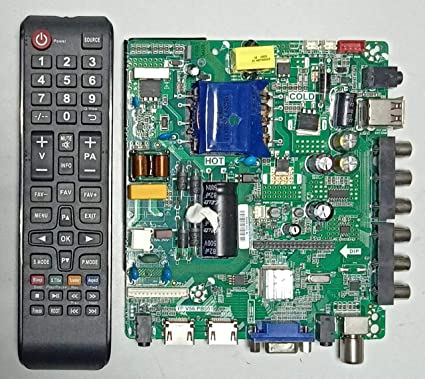 Buy CVTE LED TV BOARD 40 INCH TP V56 PB801 With Remote Online at Low
