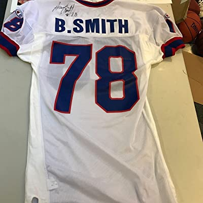 f4973ad9f 1993 Bruce Smith Signed Game Used Buffalo Jersey With COA - JSA Certified -  NFL Autographed
