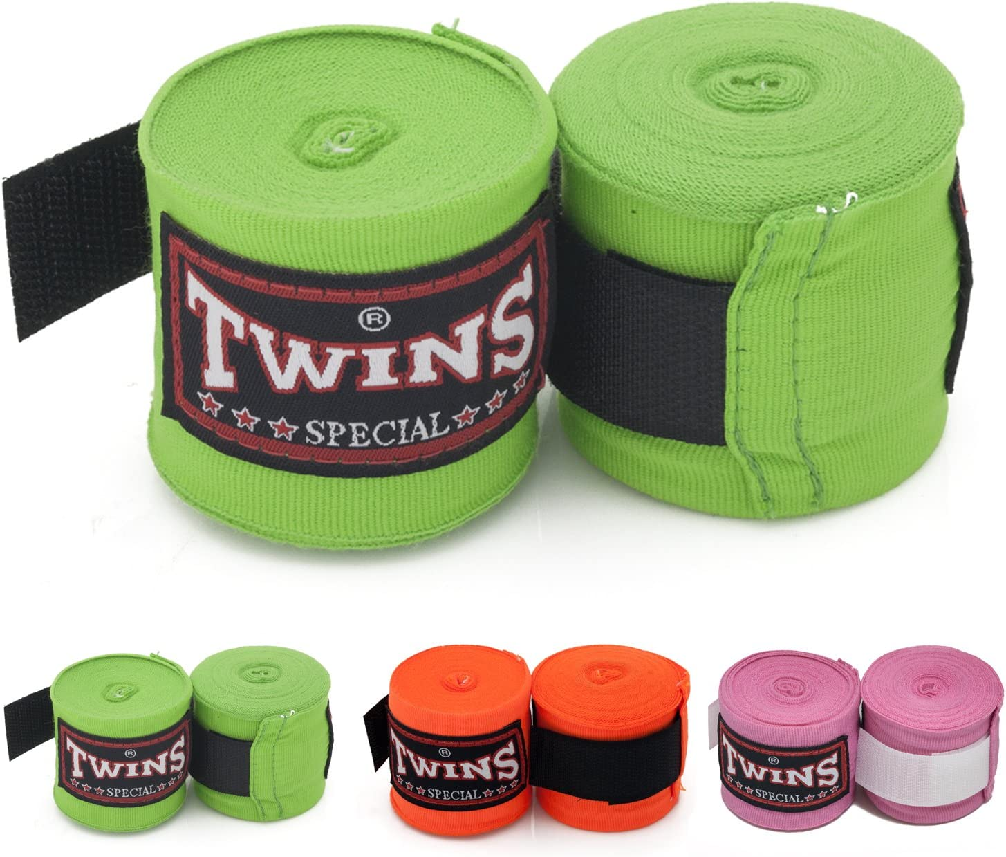 Twins Special CH-5 Bandages ELASTIC COTTON Martial Arts KICK BOXING HANDWRAPS