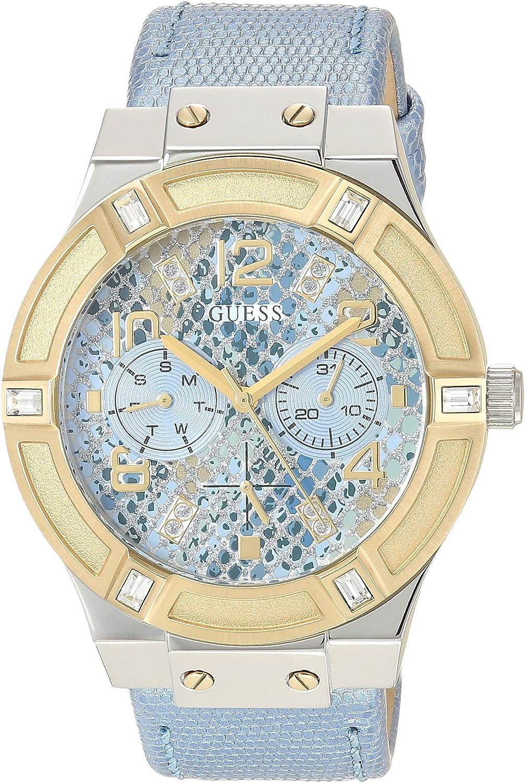 Guess W0289L2 - Reloj de Pulsera para Mujer, Color Blanco/Plata