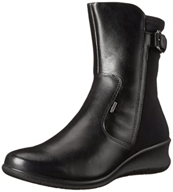 ECCO Footwear Womens Babett GTX Boot, Black, 37 EU/6-6.5 M