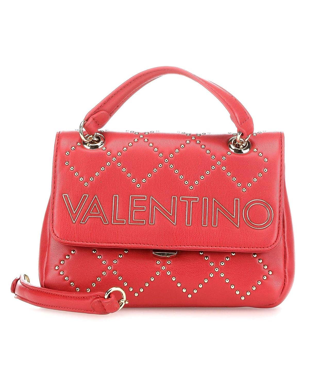 Mario Valentino VALENTINO by Mandolino Satchel S Rosso ...