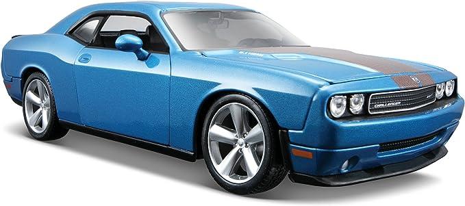 Blue Dodge Challenger SRT Maisto 34280-1//24 Scale Diecast Model Toy Car