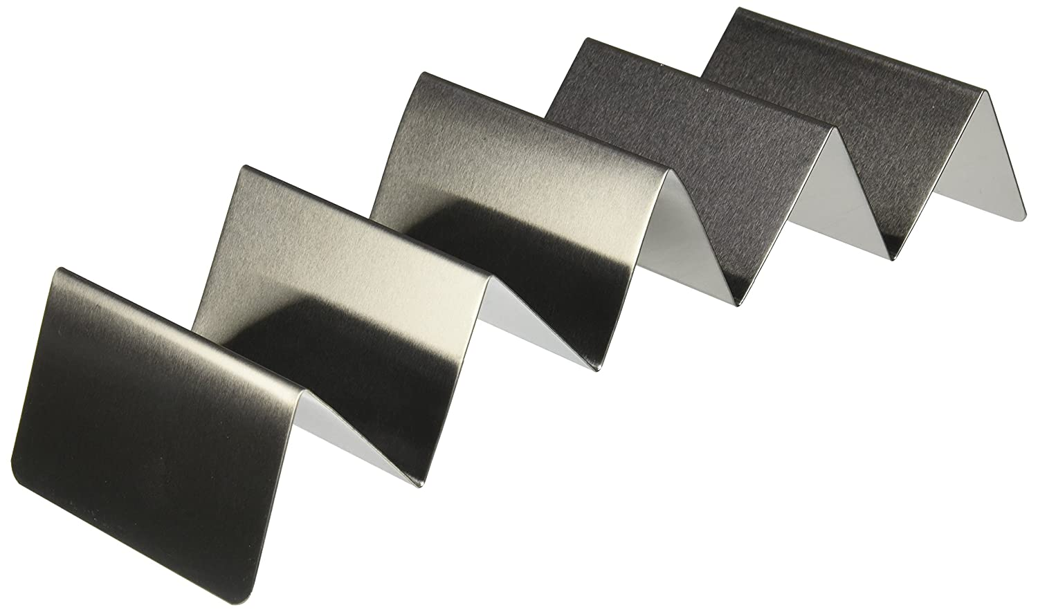 American Metalcraft TSH1 Taco Holders, Silver, 4-Inches Wide INC.