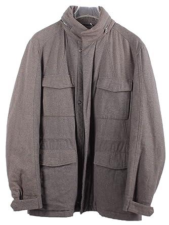 Details zu Windsor Herren Jacke lang Mantel Gr: 50 beige Neu