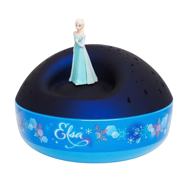 Frozen Elsa Dancing Figurine 200 Stars with Let it Go Musical Projector Trousselier 65404