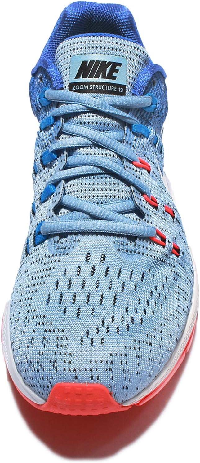 Zapatos Mujer Air Zoom Structure 19, BLU - Azzurro, 6.5: Amazon.es: Deportes y aire libre
