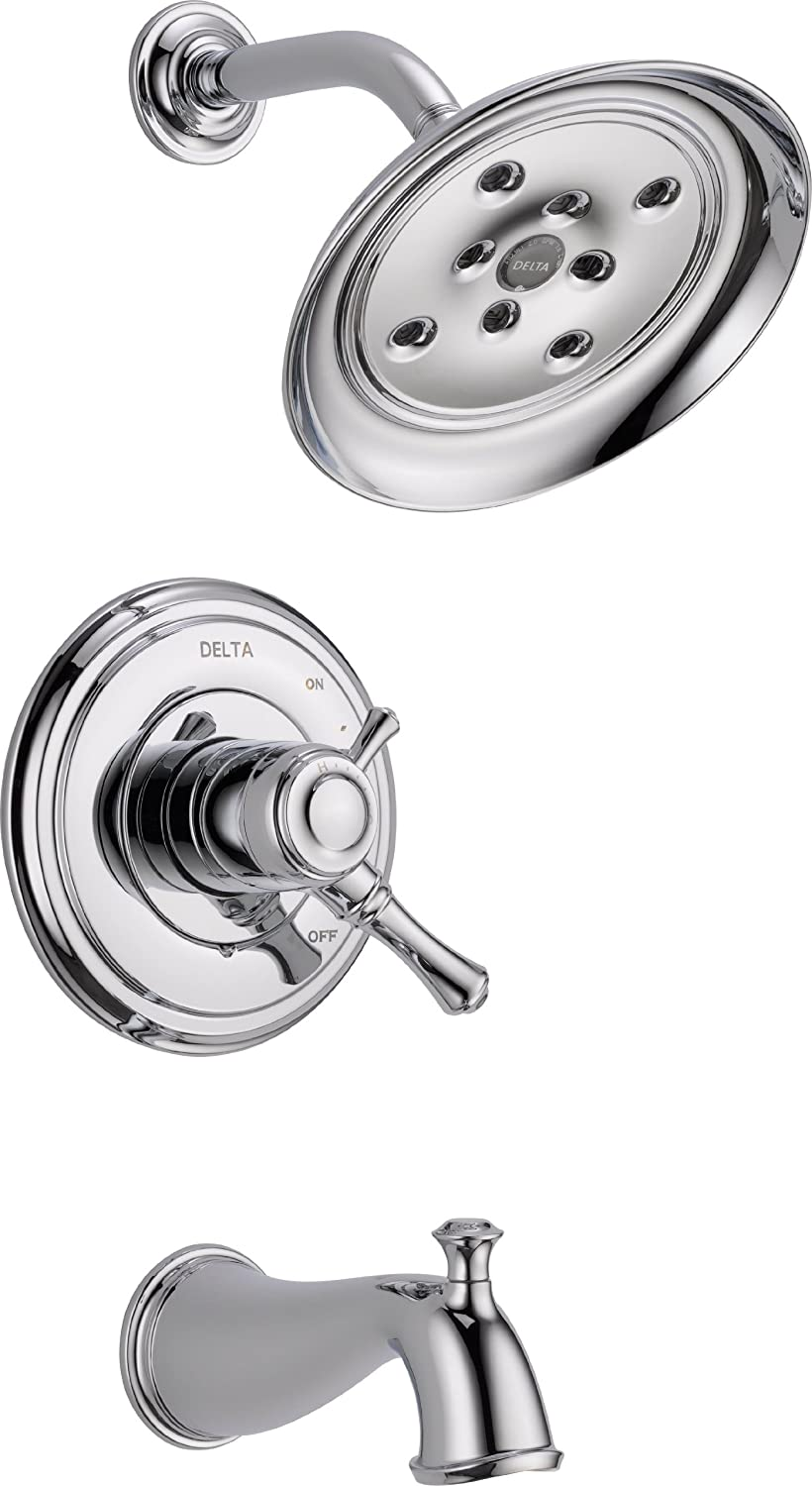 Delta Faucet T17497 Cassidy MultiChoice 17 Series Tub and Shower ...