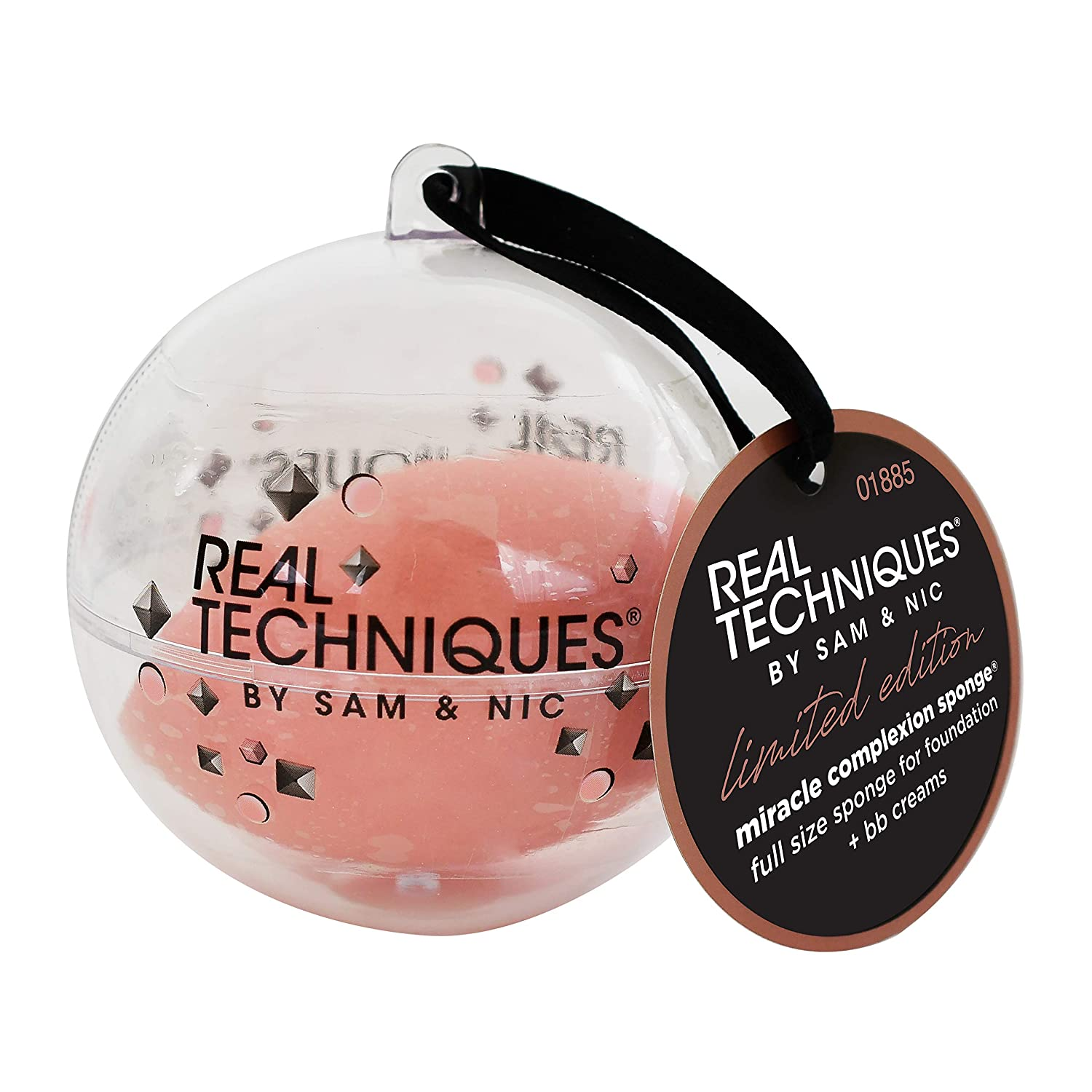 Real Techniques Holiday 2019 limited edition, miracle complexion sponge ornament