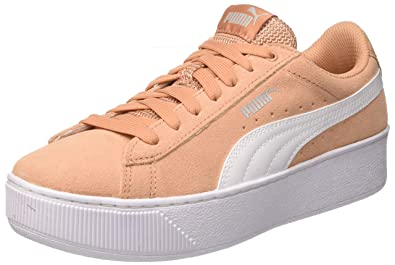 06f34ebfd5 Puma Women s Vikky Platform Low-Top Sneakers