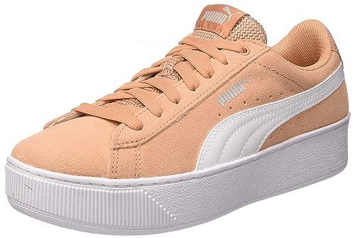 Coral Eu Puma Rosa White Vikky dusty Sneaker 36 Platform Donna AwOwYqfH