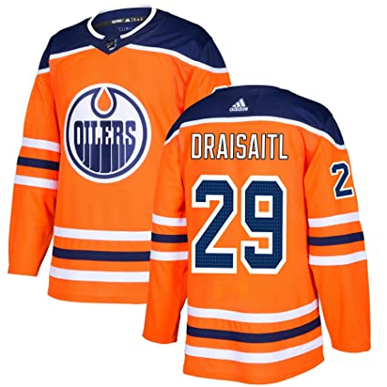 newest c9779 57449 Leon Draisaitl Edmonton Oilers adidas NHL Authentic Pro Home ...