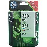 HP 351 Pack Duo - Cartouche d'Encre - Noir