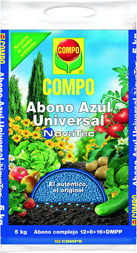 Compo Novatec Abono Azul Universal, 5 kg: Amazon.es: Jardín