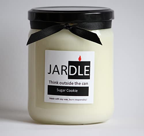 Amazon Com A 16 Oz Soy Candle Sugar Cookie Dye Free Lead Free With Cotton Wick Handmade