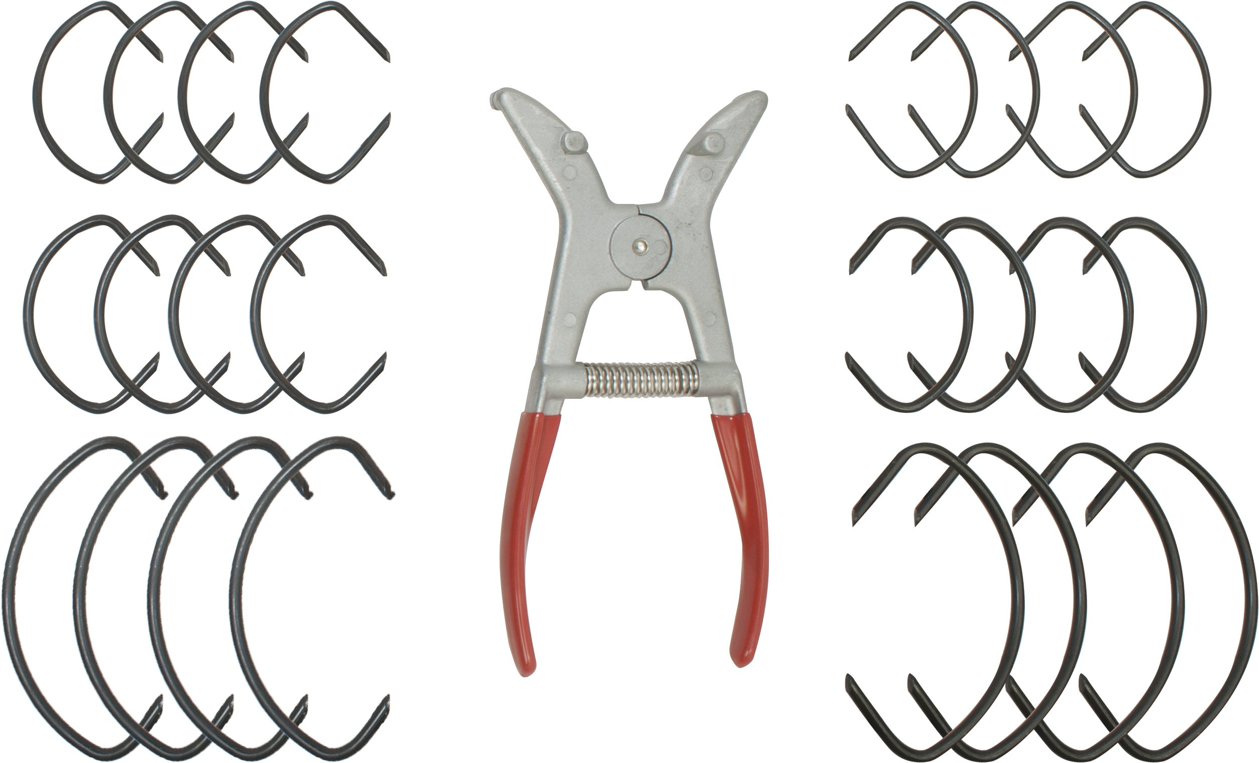 Fulton Woodworking Tools 608 Spring Miter Clamp Set By Peachtree Woodworking Pw608 by Peachtree Woodworking Supply