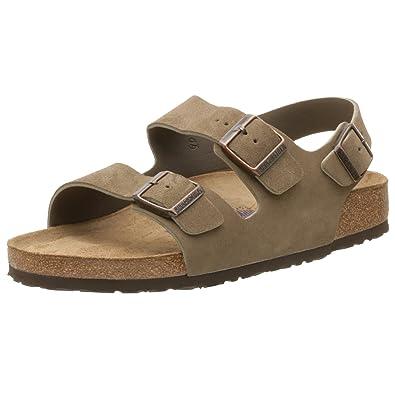 Amazon Birkenstock Milano Soft Footbed Sandal With Heel Strap
