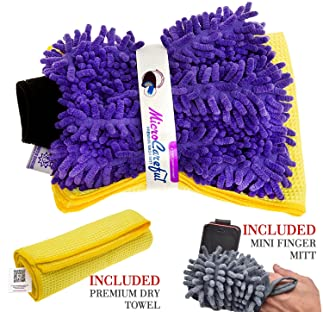 RouteGurus MicroCareful  | Best Car Wash Mitt
