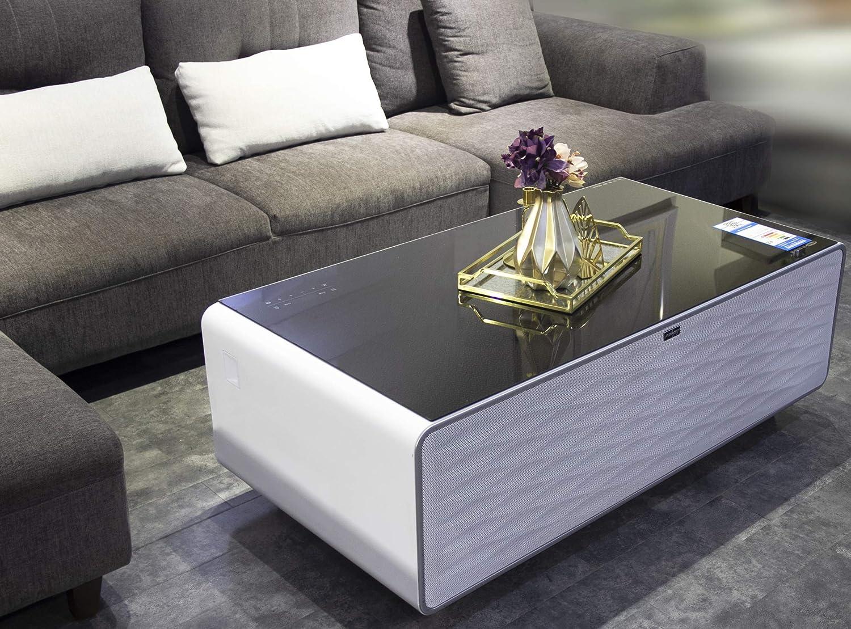 Amazon com primst refrigerator coffee table elegant white kitchen dining